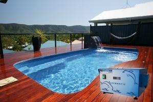 Nuevo esterilizador de solución salina para piscinas
