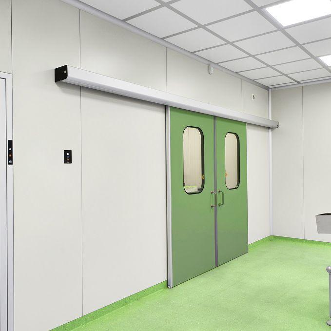 puertas correderas de aluminio para salas blancas vidriadas - Puertas Correderas Blancas