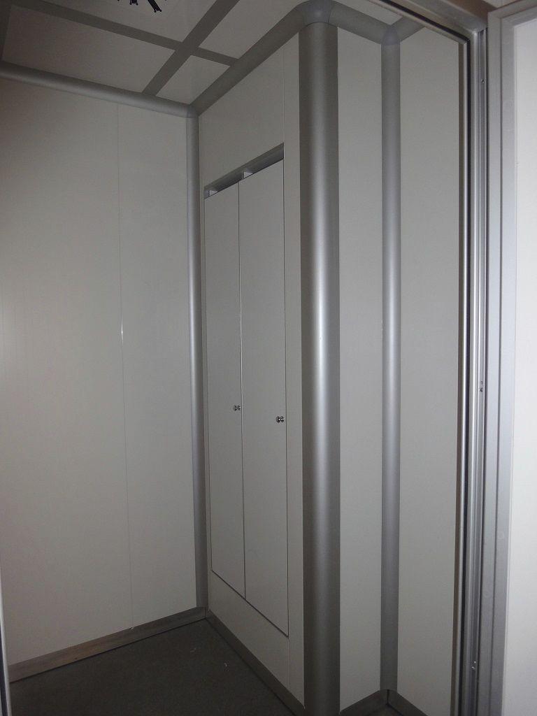 Armario De Pared De Metal De Aluminio Con Ventilaci N  ~ Armarios De Aluminio Para Exterior