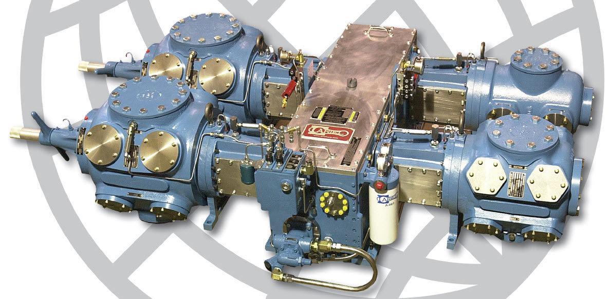 Remoción y remplazo del montaje, del pistón y bastago para cilindros de doble acción.