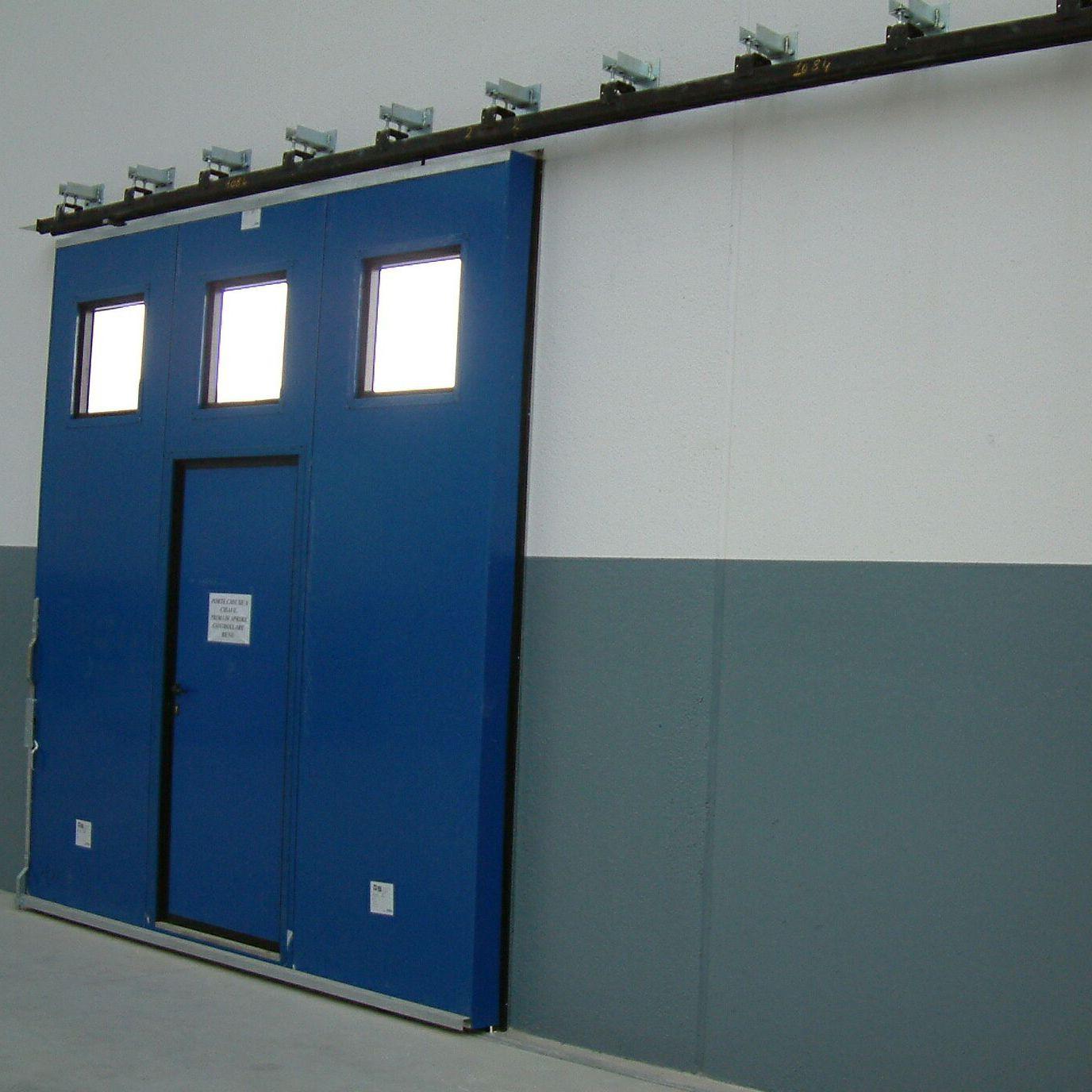 puertas correderas de metal para exterior industriales ps 3000 - Puertas Correderas Exteriores