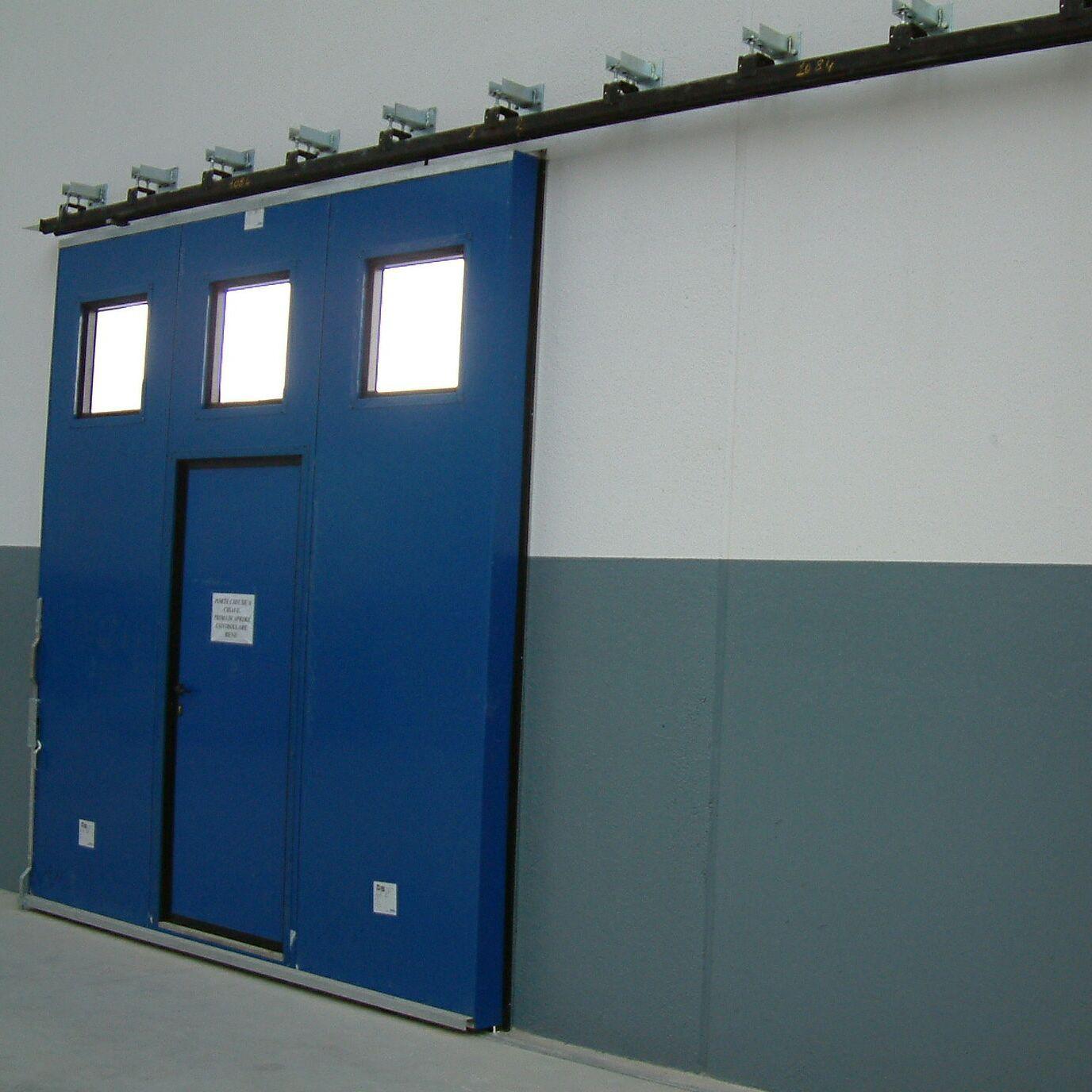 puertas correderas de metal para exterior industriales ps 3000 pre - Puertas Correderas Exteriores