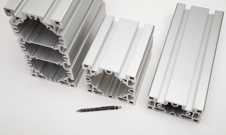 Perfil de aluminio / de botón / con marco / rectangular - BLOCAN® D ...