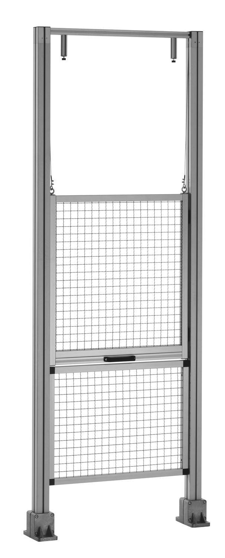 Puerta corredera vertical levadiza corredera de - Puerta corredera de aluminio ...