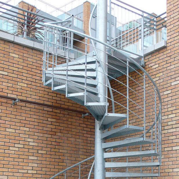 escalera de caracol metlica graepel - Escaleras De Caracol