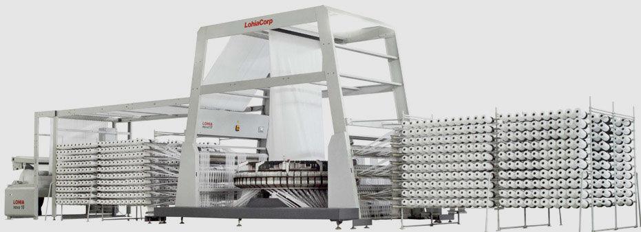 Máquina de tejer de tejido para sacos / circular - nova series ...