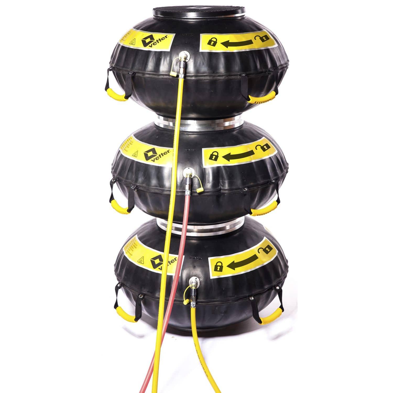 Cojín de elevación conectable   12 bar / 174 psi   Vetter GmbH