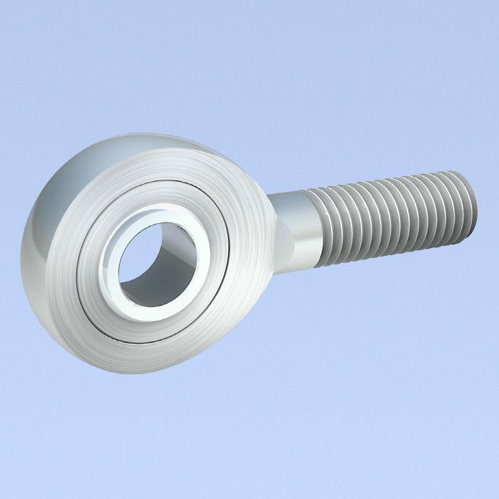 Cabeza de rótula con de roscado macho - DIN ISO 12240-4, DIN 648 ...