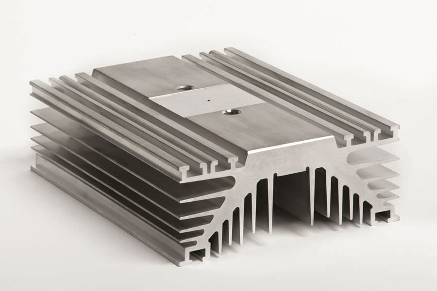 Disipador termico de aluminio