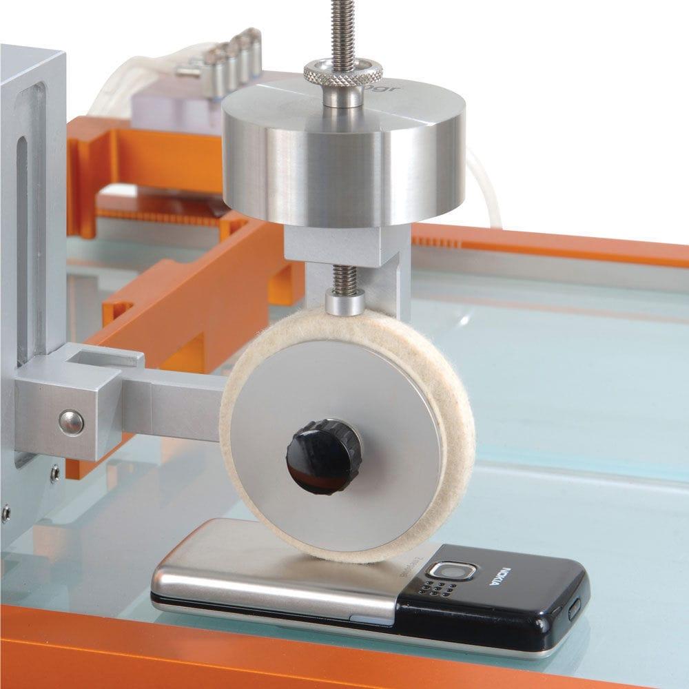 mquina de prueba de abrasin y de desgaste para plstico para materiales digital