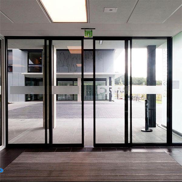 Puerta corredera / de aluminio / de vidrio / para interior - DIVA ...