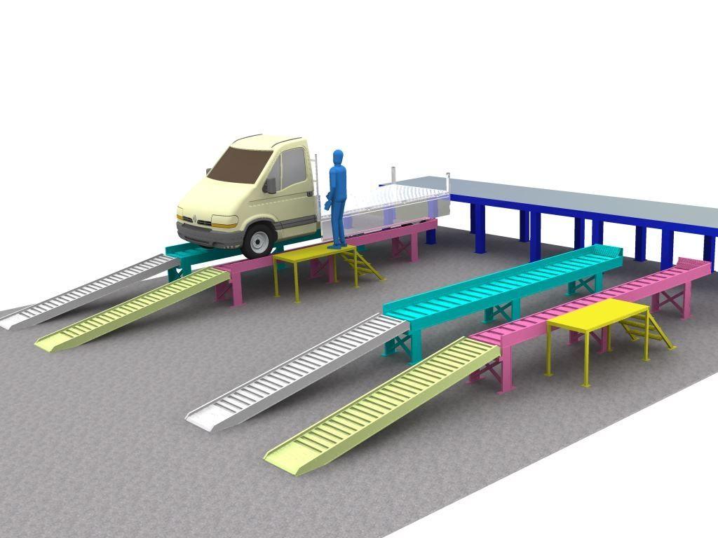 Rampas aluminio para subir vehiculos