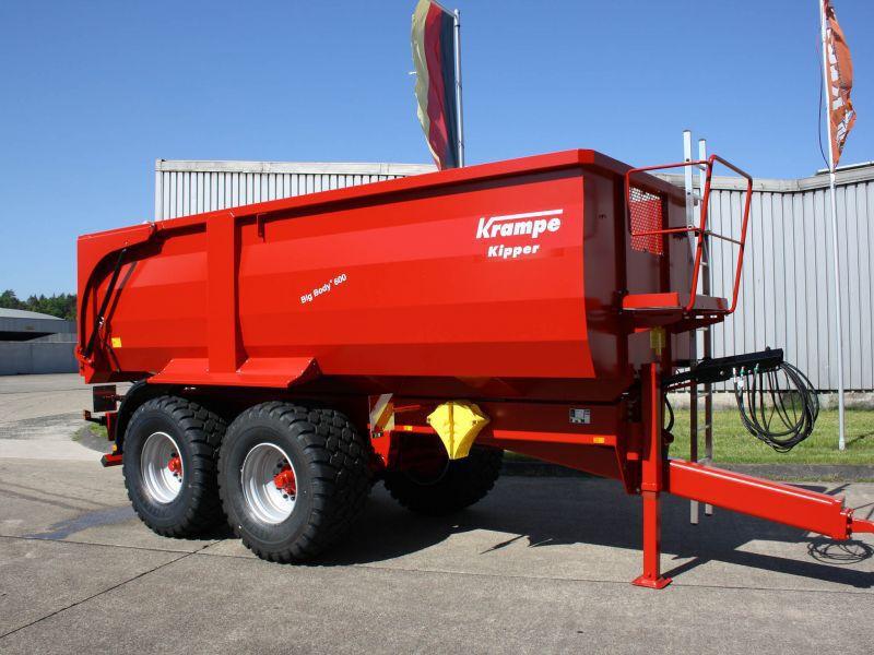 Remolque en tándem / volquete / para carga pesada / hidráulico - Big ...