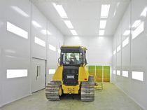 Cabina de pintura cerrada / para material agrícola / para calderería / para aplicaciones aeronáuticas