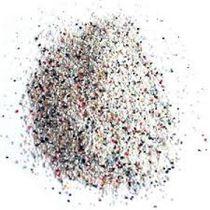 Abrasivo de arenado de plástico