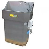 Lavadora de agua / con chorro de agua / manual / de proceso