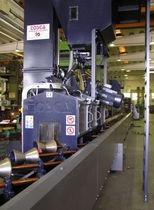 Granalladora de banda / para tubos