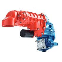 Compresor de aire / estacionario / con motor diésel / de tornillo