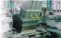 Horno de fusión / de cámara / de inducción / para la industria de la cerámica