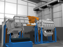 Horno de fusión / de coladas / de retorta rotativa / de inducción