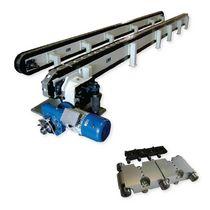 Transportador de banda / modular / horizontal / de transporte