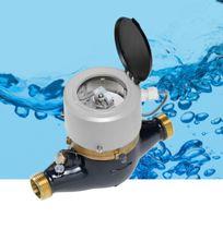 Contador volumétrico / de esfera seca / de turbina de chorro múltiple / de contactos