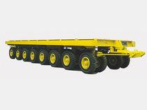Remolque de más de 6 ejes / para equipamiento industrial / plataforma