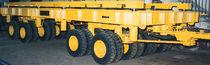 Remolque de 6 ejes / para equipamiento industrial / plataforma