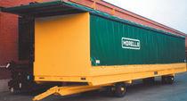 Remolque de 2 ejes / para equipamiento industrial / furgoneta