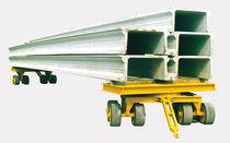 Carretón autopropulsado eléctrico / para obra de elementos prefabricados