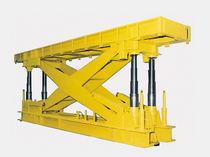 Mesa elevadora de tijera / hidráulica / para carga pesada