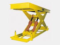 Mesa elevadora de tijeras simples / hidráulica