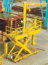 Plataforma elevadora de tijera fija / eléctrica