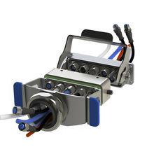 Conector industrial / combinado / híbrido / de metal