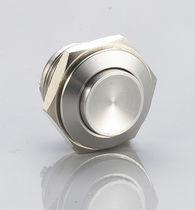 Botón pulsador unipolar / acción momentánea / de botón / electromecánico