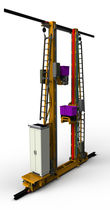 Transelevador automático / para palés / para sistema de organización