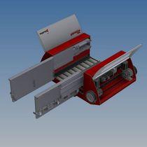 Sistema de almacenamiento de lanzadera