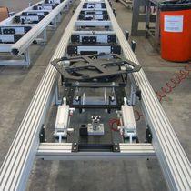 Mesa giratoria accionada por motor / horizontal / inclinable / para transportadores