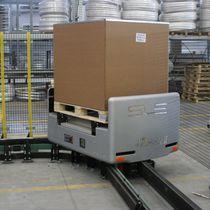 Sistema de transporte de palés