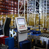 Máquina de preparación de pedidos automática / pick-to-light
