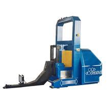 Apiladora eléctrica / guiado automático / de tracción / para manutención