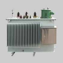 Transformador de distribución / sumergido / de baja pérdida / con protección contra cortocircuitos
