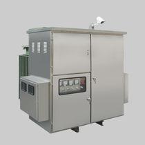 Transformador de distribución / de baja pérdida / trifásico / de tensión media
