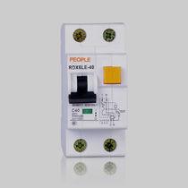 Interruptor diferencial de fuga por tierra / modulable