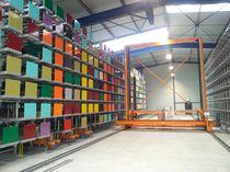 Almacenamiento automático vertical / para productos largos / con transelevadores