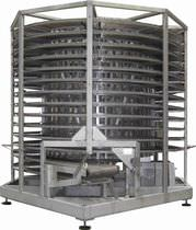 Torre de refrigeración para la industria alimentaria