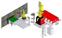 Apiladora robotizada / de accesorios de ladrillos