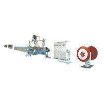Línea de extrusión para tubos compuestos plástico-aluminio / de tubos / para termoplásticos / para PEX