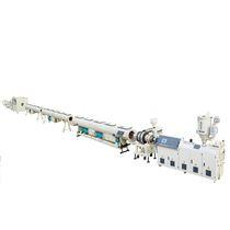 Línea de extrusión de tubos / para PE / multicapas / de tubos de drenaje