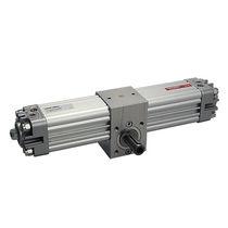 Actuador rotativo / neumático / de piñón cremallera / de doble efecto